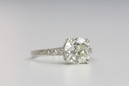 vintage engagement ring.: Vintage Engagement Rings, Art Vintage, Square Engagement Rings, Dream, Vintage Rings, Blingbling, Big, Beautiful Vintage, Bling Bling