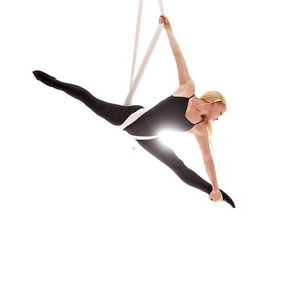 aerial yoga poses | Hammock Pose