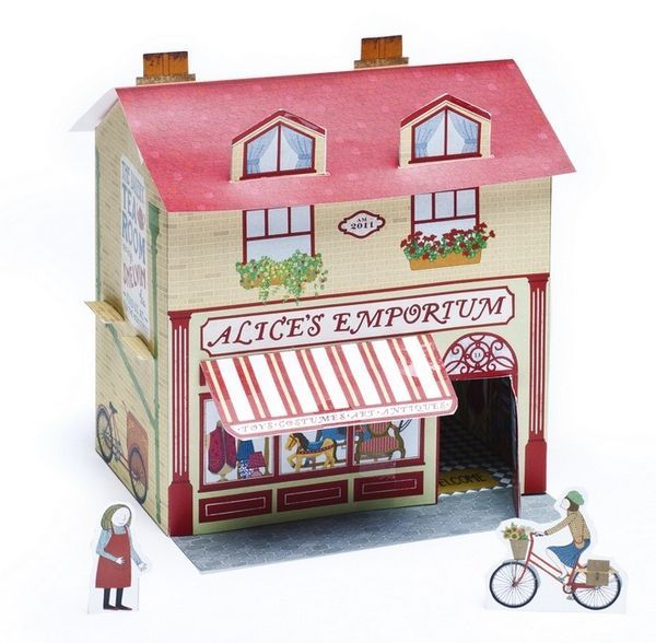 Alice's Emporium – a perfect paper craft project for kids