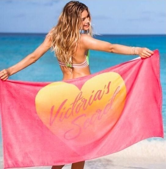 Victoria Secret 2014 Beach Towel and gift