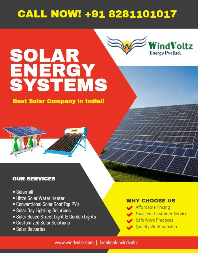 Windvoltz Is The Leading Solar Company In Trivandrum