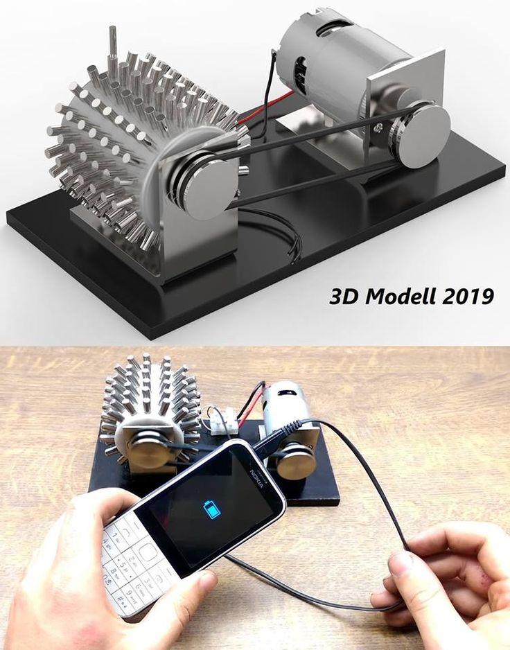 Magnetmotor perfekt selber bauen Neu 2019