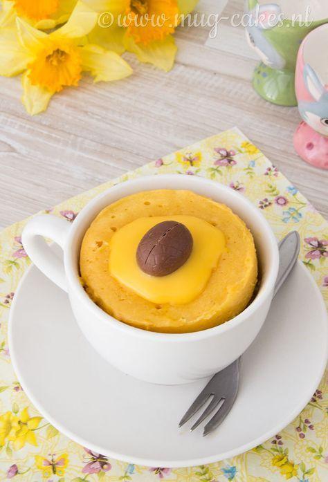 Klik hier voor het recept voor een eenvoudige advocaat mug cake voor Pasen. Dit lekkere cakeje maak je binnen vijf minuten in je magnetron!