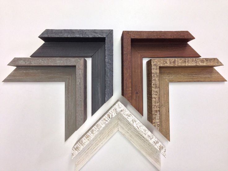 New Rustic Natural Wood Floater Frame Samples For 2 Quot Deep