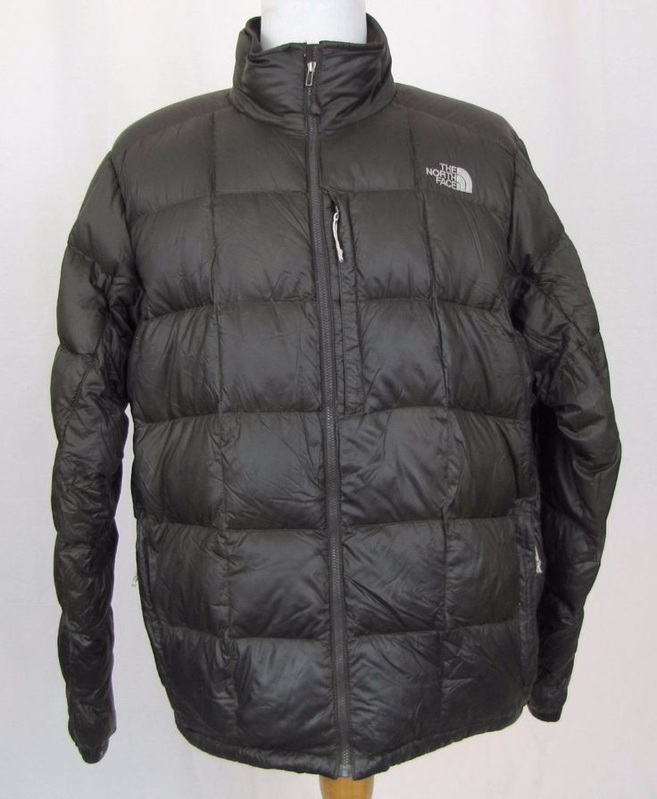 The North Face Jacket XL Summit Series 800 Fill Goose Down Brown ...