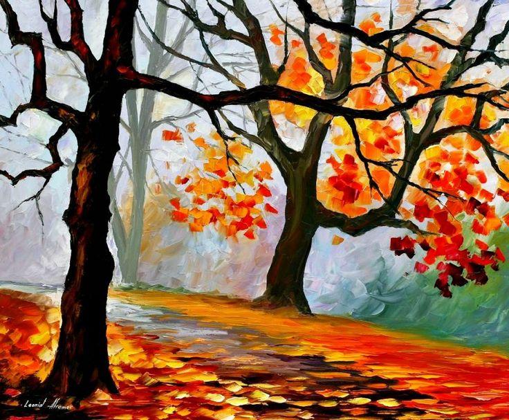Рисунки на тему краски осени