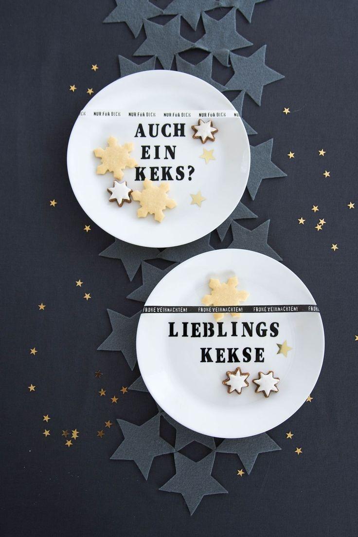 [Kreativ-Adventskalender:Türchen #7] DIY Keks-Teller
