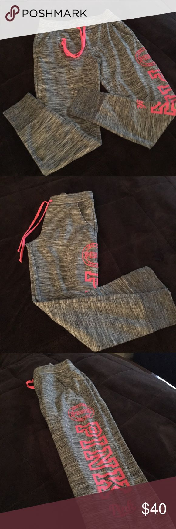 Victoria Secret sweatpants 💗 Victoria Secret brand new, size small jogger style sweatpants.     These have never been worn and are in perfect condition!! PINK Victoria's Secret Pants Track Pants & Joggers