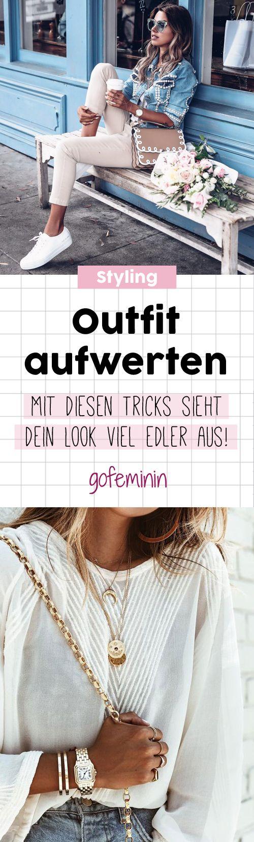 Kleine Styling-Tricks mit großer Wirkung: So könnt ihr schlichte Outfits schnell & günstig aufwerten – gofeminin.de