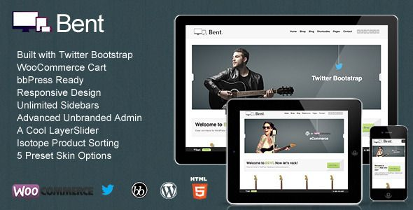 Bent - Responsive WordPress eCommerce - ThemeForest Item for Sale