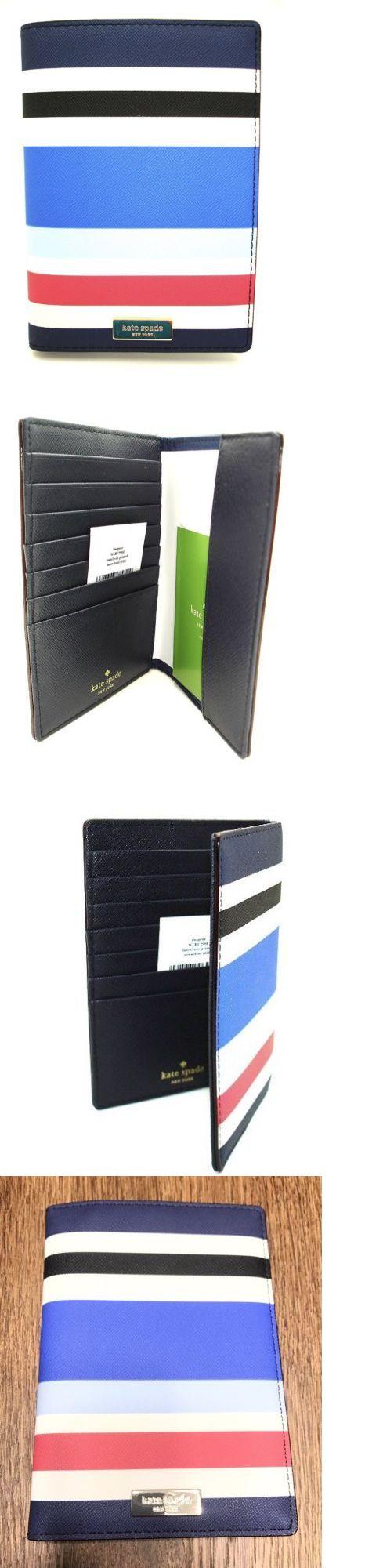 Passport Holders 169288: Nwt Kate Spade Imogene Wlru2980 Laurel Way Printed Passport Holder Wallet $89 -> BUY IT NOW ONLY: $48.99 on eBay!