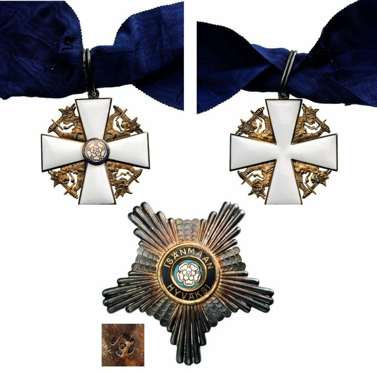 ORDER OF THE WHITE ROSE : Lot 376