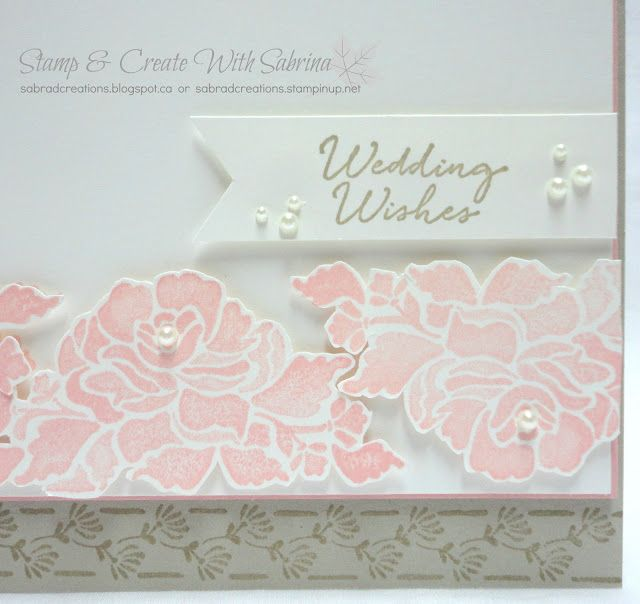 Stamp & Create With Sabrina: I Finally Got My Floral Phrases!