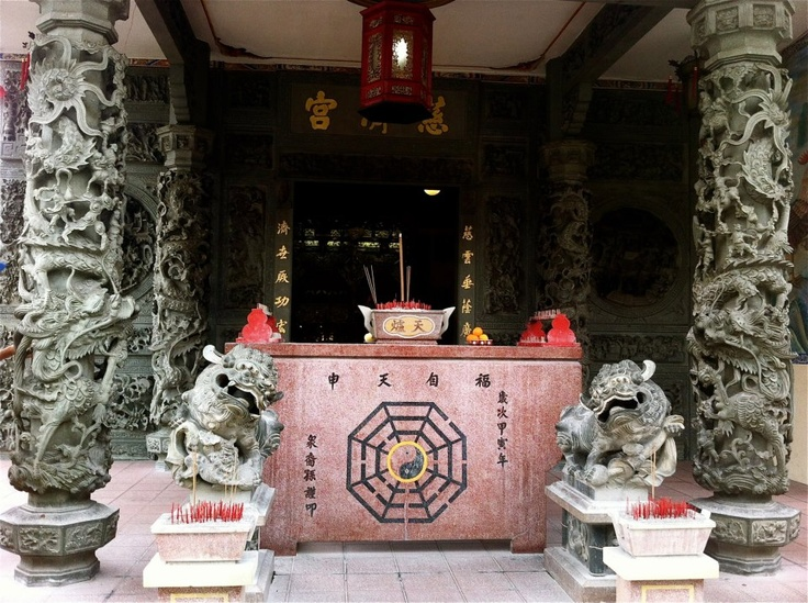 Temple time...