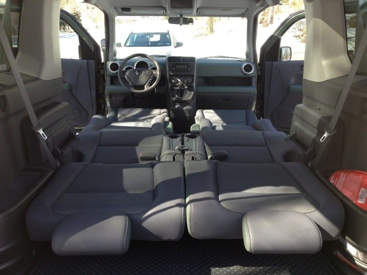2016 Honda Element cabin