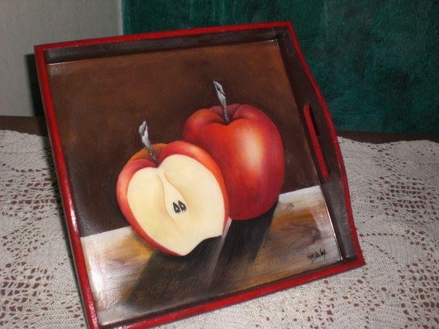 Bandeja Manzanas
