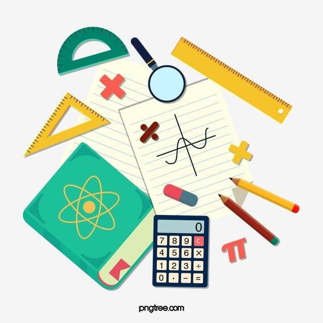 Mathematics Arithmetic Ruler Compass Protractor Calculator Pencil Math Symbols Math Clipart Math Mathematics Png Transparent Clipart Image And Psd File For F School Chalkboard Art Math Coloring Math Cartoons
