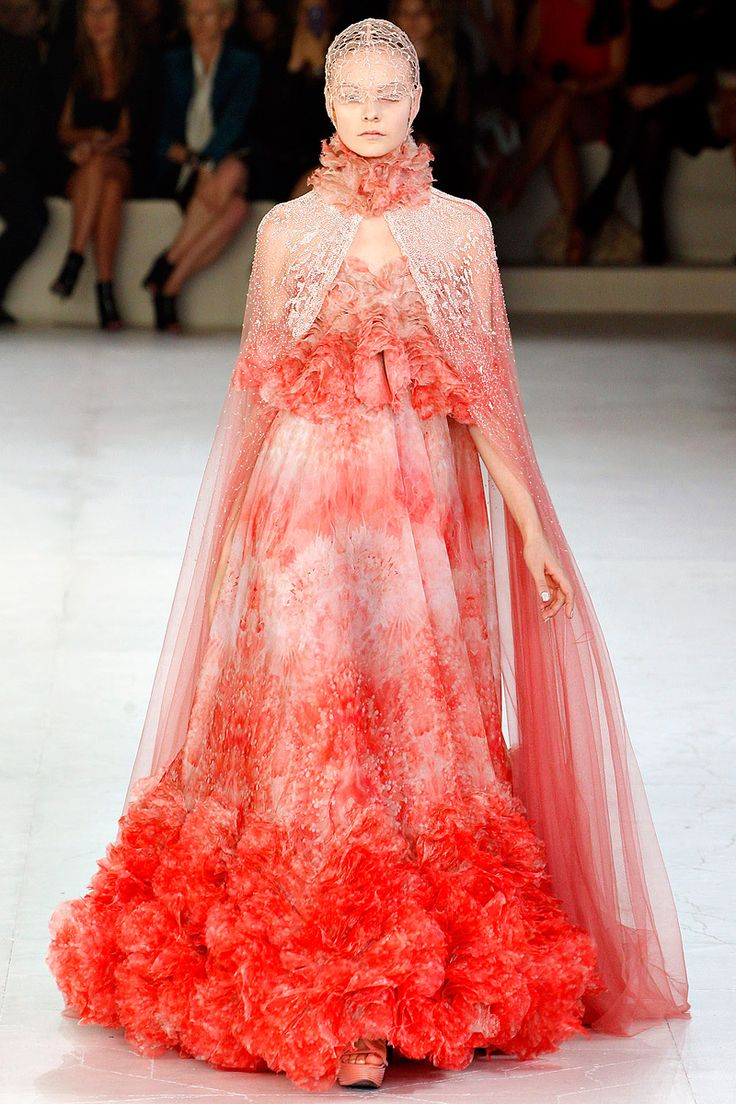 Stunning dress from Alexander McQueen Spring 2012