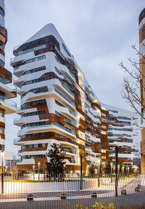 Residenze Hadid, Milan, 2015 - Zaha Hadid Architects