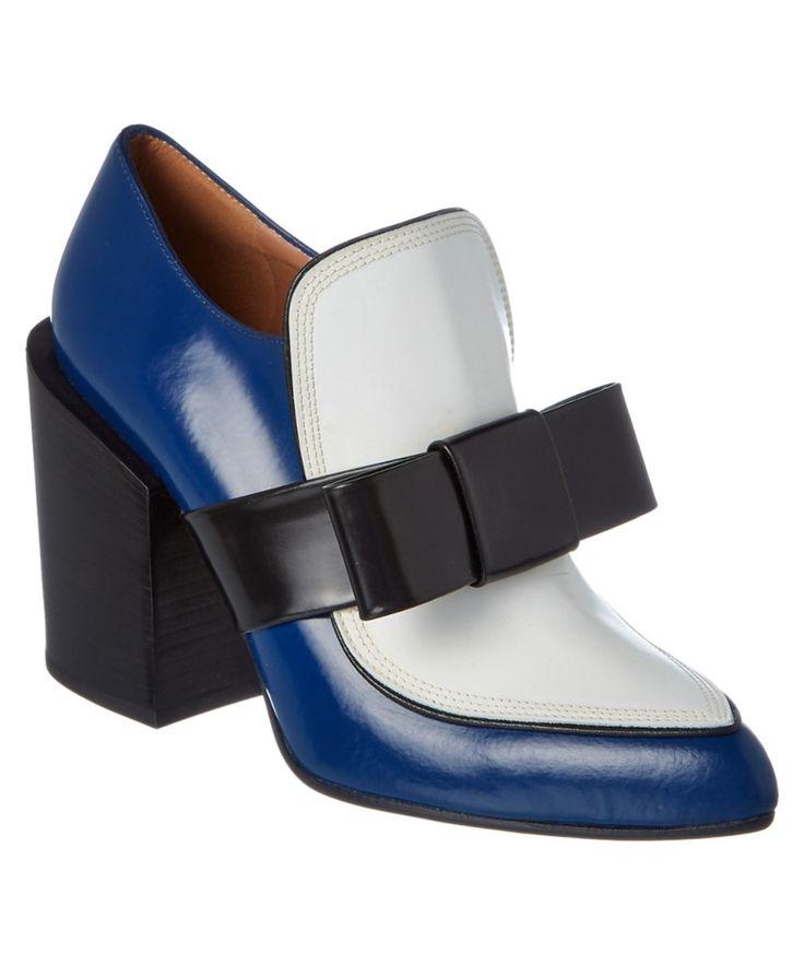 MARNI MARNI LEATHER BOW PUMP'. #marni #shoes #oxford