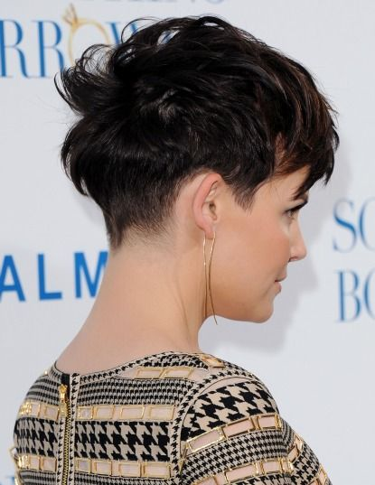 7 Ways To Style A Pixie Haircut, As Modeled By Ginnifer Goodwin: Girls in the Beauty Department