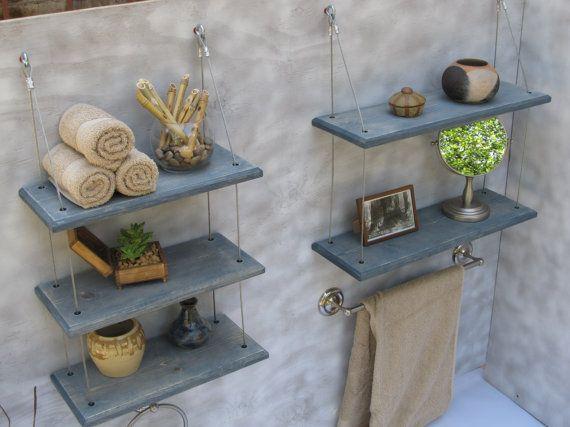 17 mejores ideas sobre estantes flotantes de ba o en for Mueble zapatero colombia