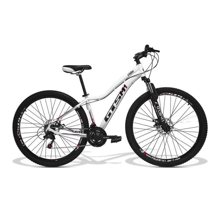 Bicicleta Feminina GTS Aro 29 Freio a Disco Câmbio Traseiro Shimano 24 Marchas e Amortecedor| GTS M1 Ride  - GTSM1