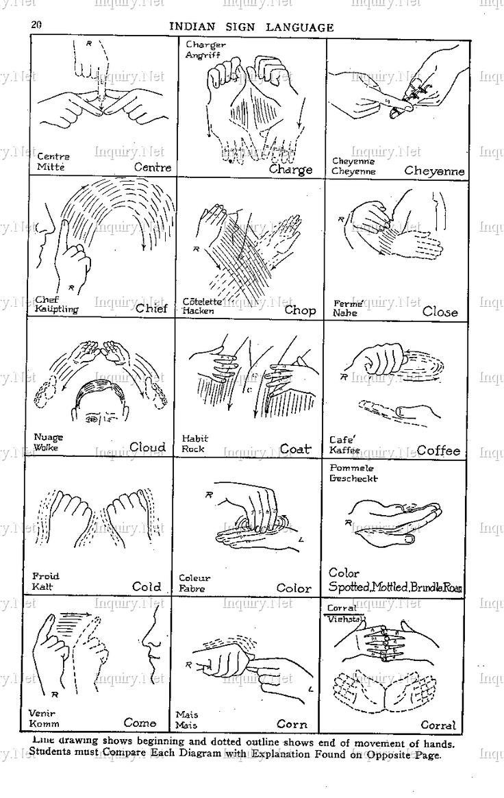 31 Best Indian Sign Language Images On Pinterest American Sign