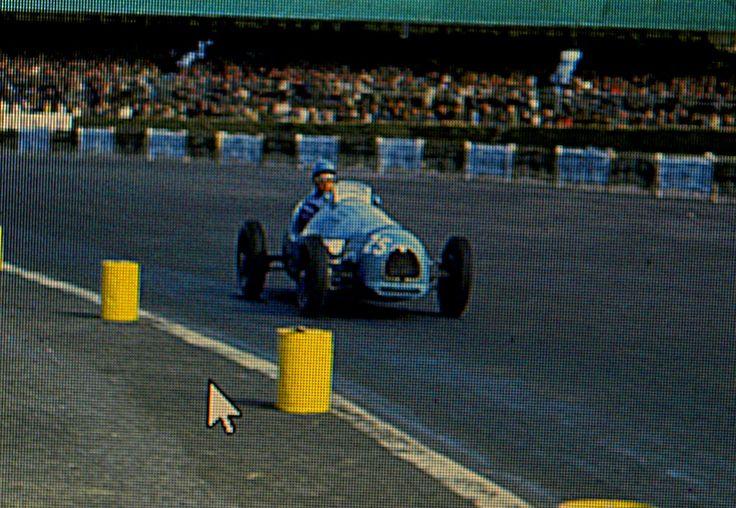 1952 GP Wielkiej Brytanii (Silverstone) Gordini T16 (Maurice Trintignant)