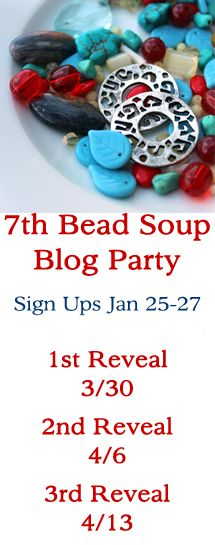 Official Pin Board of the 7th Bead Soup Blog Party