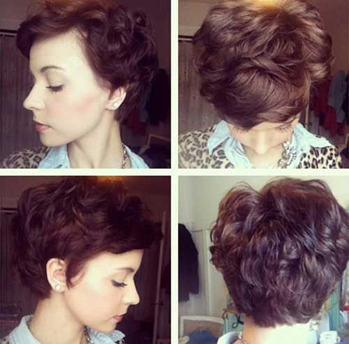 Pixie Cuts for Wavy Thick Hair