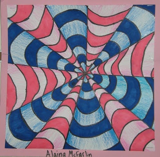 6th GRADE - Op Art