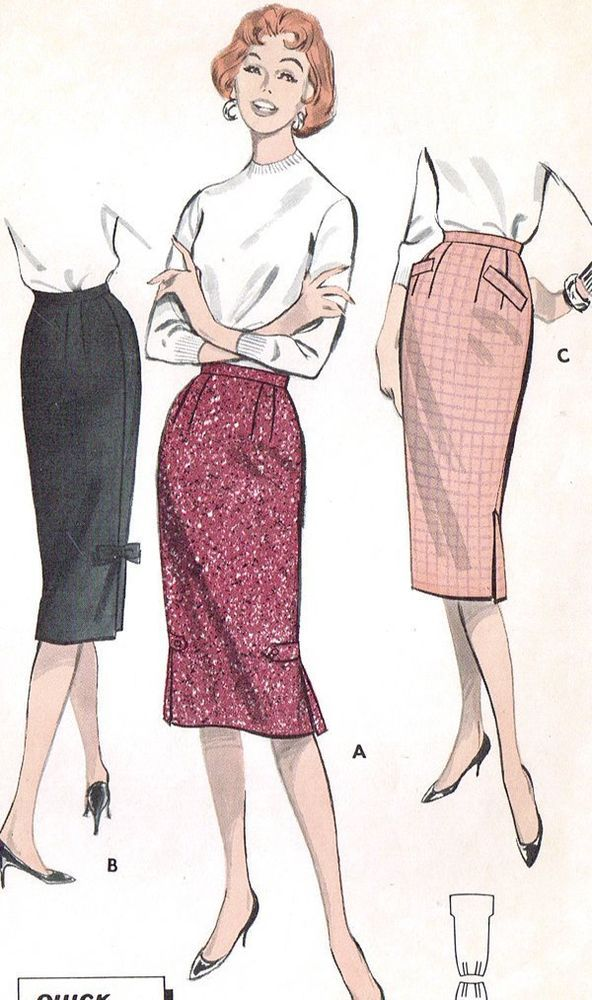 17 best ideas about pencil skirt patterns on