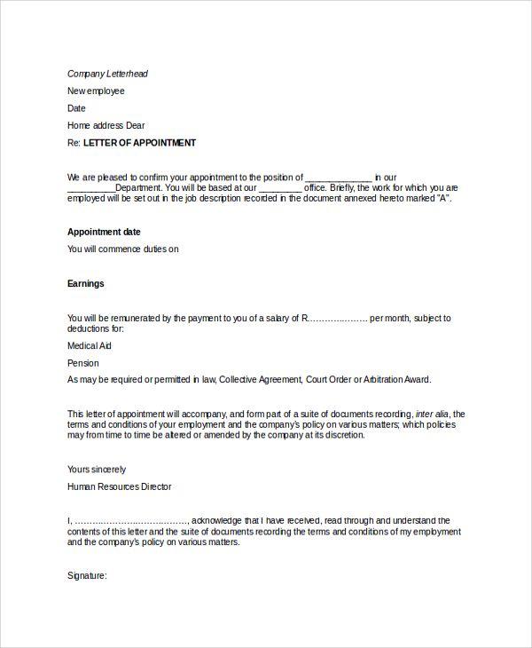 25+ melhores ideias de Amostra de formato de carta no Pinterest - sample agent appointment letters