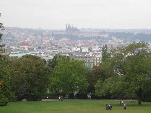 Riegrovy Sady Park/Beer Garden - Prague