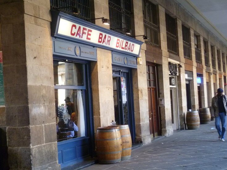Just seconds before Ian was drinking beer in Bilbao, Spain