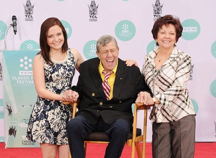 Jerry Lewis excludes five children from inheriting his estate