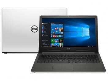 """Notebook Dell Inspiron 15 I15-5558-A50 Intel Core - i7 8GB 1TB LED 15,6"""" Placa de Vídeo 4GB Windows 10. Não é necessário ficar esperando ao telefone ou perder tempo, se for necessário, a Dell agenda a visita de um técnico e vai até você no próximo dia útil. A garantia em domicílio em 24 horas é uma exclusividade da Dell, e o seu Notebook Dell Inspironi15-5558-A50 já vem com ela."""