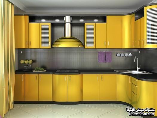مطابخ المونتال بالوان تاخد العقل ،The Latest Kitchen Designs Alamutal  Fromwoman1458396008423 Part 97