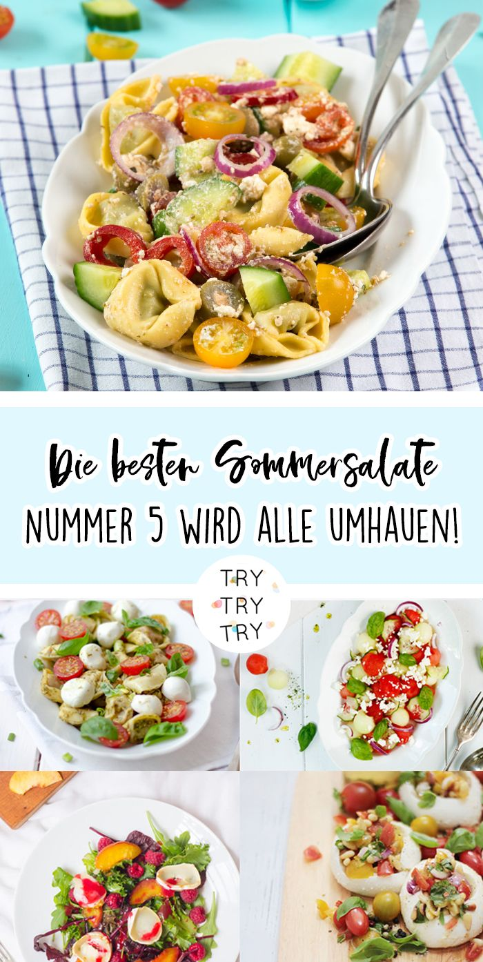 Die besten (Beilagen-)Salate für die Grillsaison!