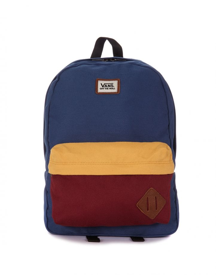 Vans Old Skool Backpack i love vans and old skool stuff  but about the backpack it brings the o'l colors back