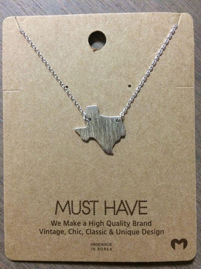 Texas Necklace - Silver