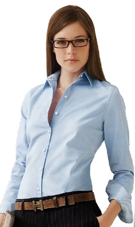 Patrones para confeccionar blusa estilo casual de dama del tipo camisa con manga larga en todas las tallas y en 3 formatos de impresion para bajar por internet.
