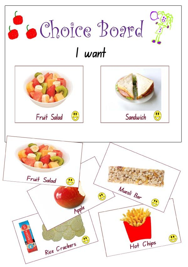 We have been busy updating a our visual resource packages, making choice-making easier with clearer, larger visual aids.