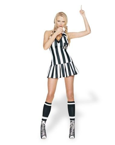 Sexy Referee Adult Costume | Adult Costumes U0026 Makeup | Pinterest | Woman Costumes Sexy And Products