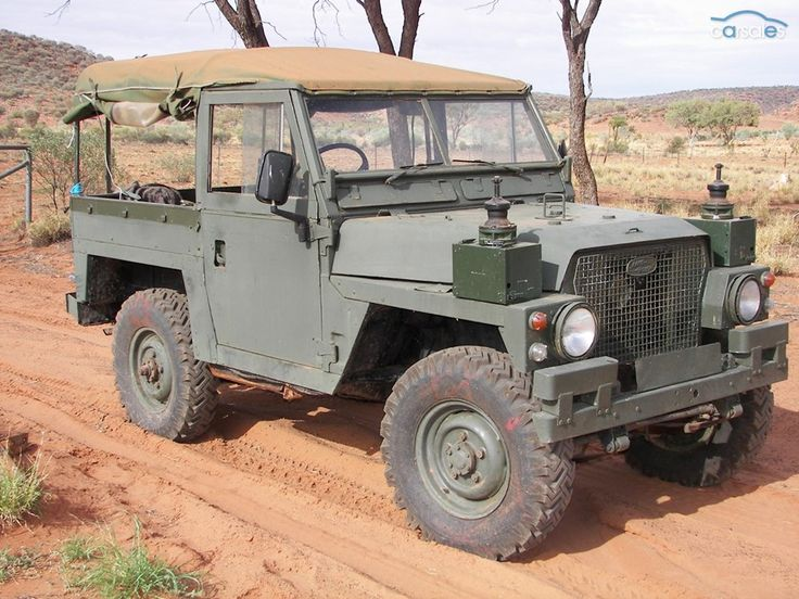 1976 Land Rover Rover Series III Military Lightweight.
