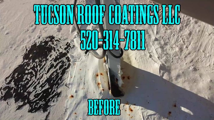Roof Coating Tucson Before & After Mobile Home 1... Roof