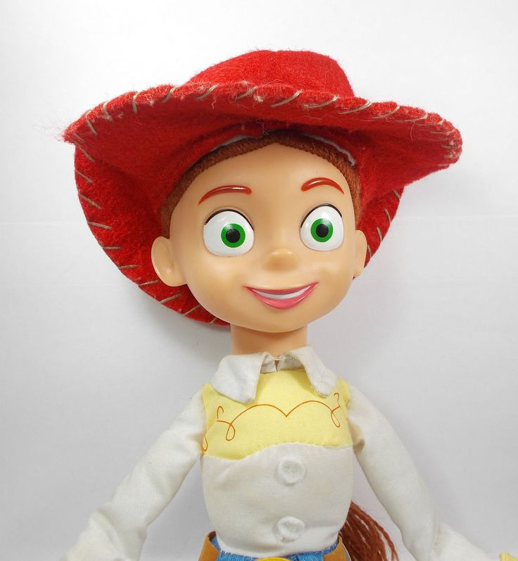 "Toy Story - Jessie - Doll - 16"" Tall - Toy Figure - Applause - Disney"