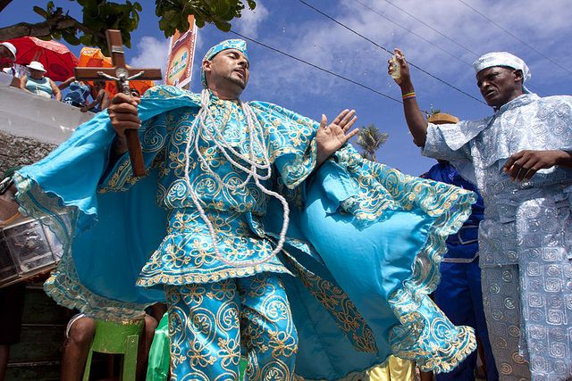 Festa de Yemanjá    Fotografia feita durante a Festa de Yemanjá no bairro do Rio Vermelho, em Salvador-BA.