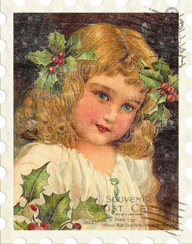 ◆ Hiver & Noel... vintage illustrations